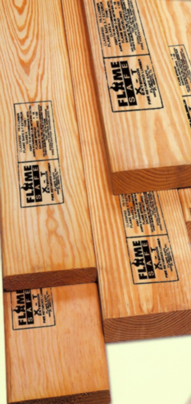 lumber with stamp