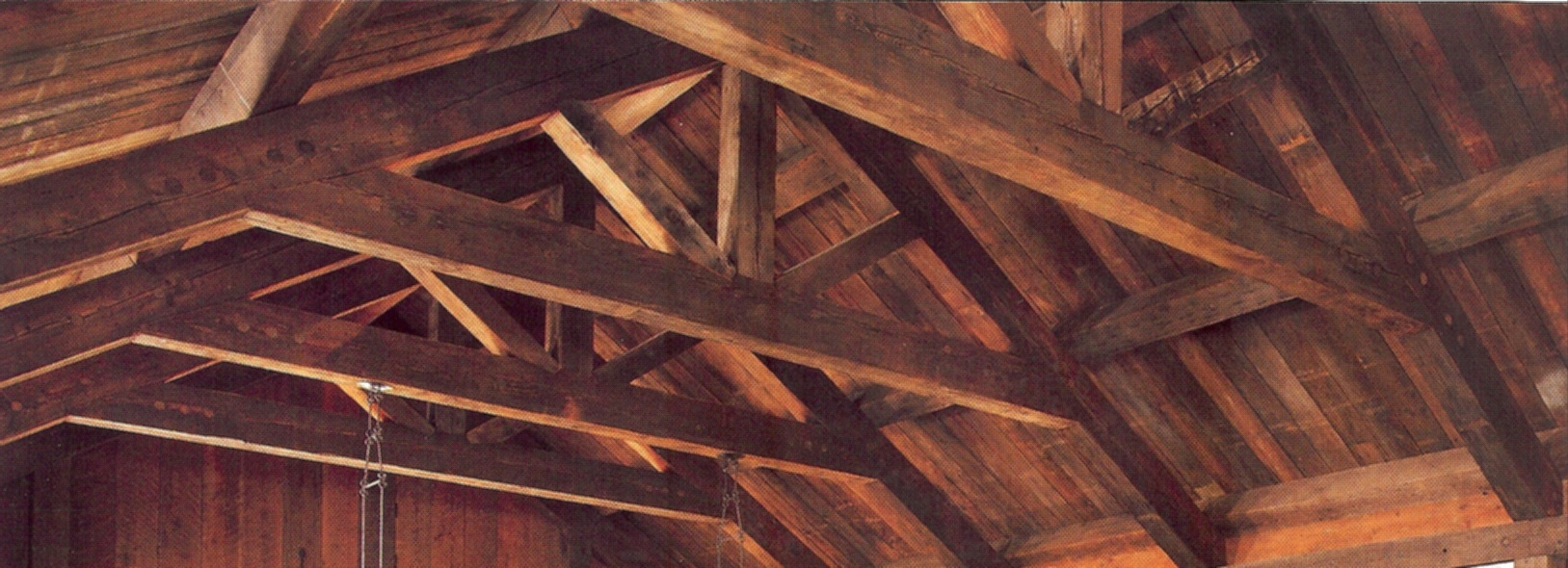 Painting Rough Cedar Ceiling Beams: Fire Retardant Plywood,Fire Retardant Lumber, Fire